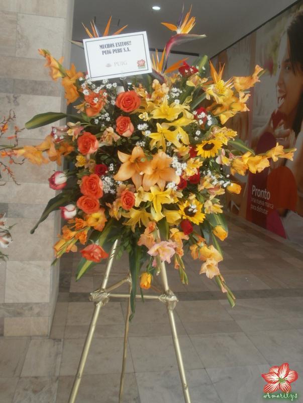 Arreglos Inaguracion Floreria Amarilys En Arequipa